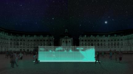 Glowee bioluminescence installation