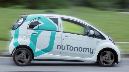 Nutonomy taxi autonome