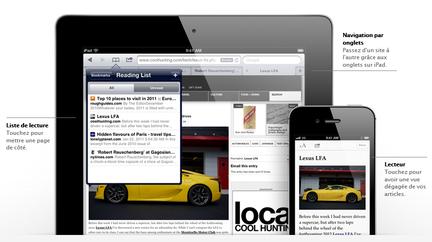 iOS 5 Safari Mobile