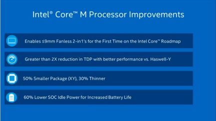Intel Core M optimisations