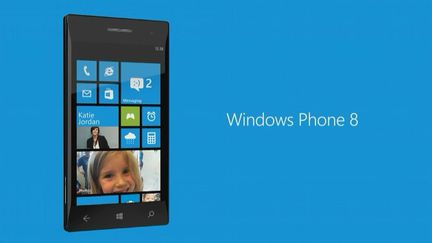 Windows Phone 8 accueil
