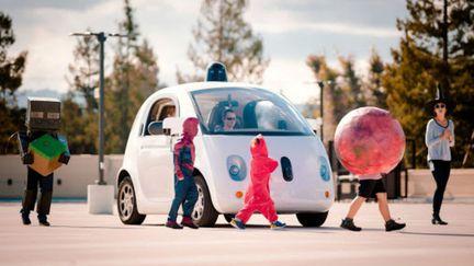 Google Car enfant