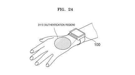 Samsung brevet biometrie veine