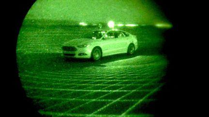 Ford Fusion autonome obscurité.