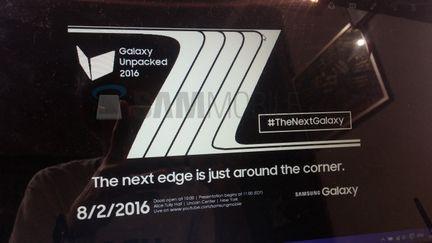 Samsung Galaxy Note 7 teaser