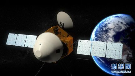Chine sonde Mars