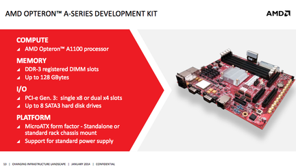 AMD Opteron A1100 ARM