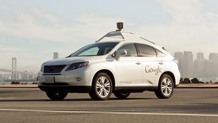 Lexus Google Car