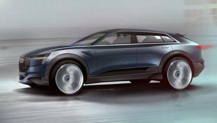 Audi e-tron quattro voiture electrique