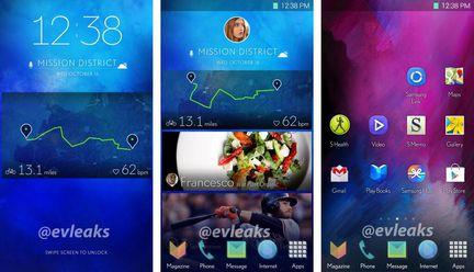 Samsung ecran accueil