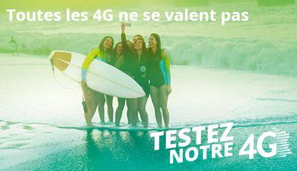 Bouygues Telecom 4G test