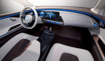 Mercedes Generation EQ habitacle