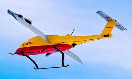 DHL drone livraison