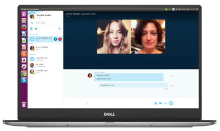 Skype-pour-Linux-alpha-appel