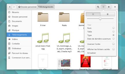 GNOME-3.16-Fichiers