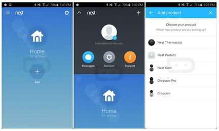 Nest application