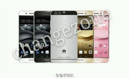 Huawei P9 rendu