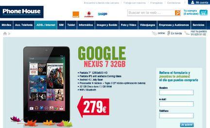 Google Nexus 32 Go Phone House