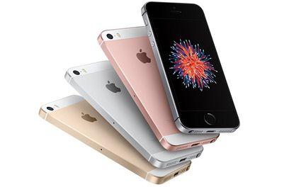 iPhone SE coloris