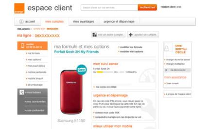 Sosh Orange espace client