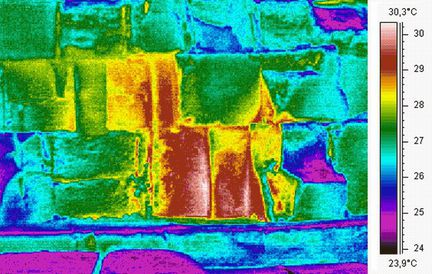 ScanPyramids image thermique
