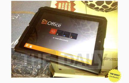 MS Office iPad