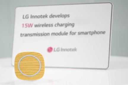 LG recharge sans fil