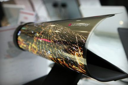 LG Display OLED enroulable