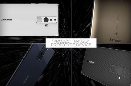 Google Lenovo Tango