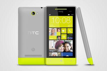 HTC 8S gris jaune