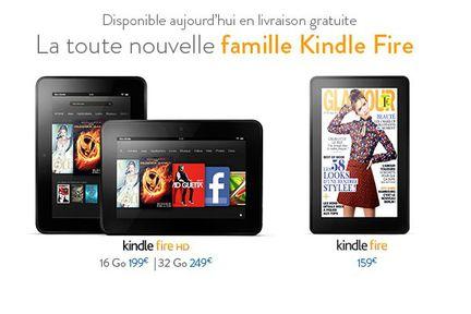 Amazon Kindle Fire HD France