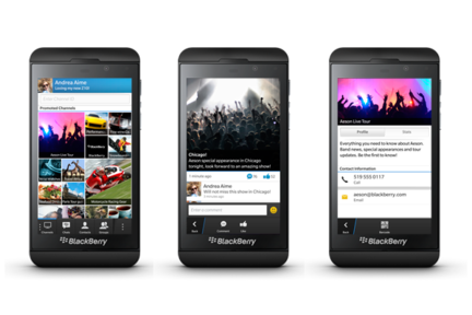 BlackBerry Channels