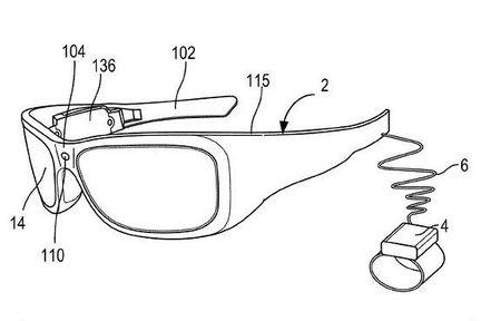 Microsoft brevet emotion lunettes