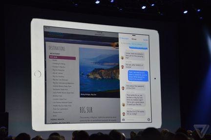 Apple iPad multitache