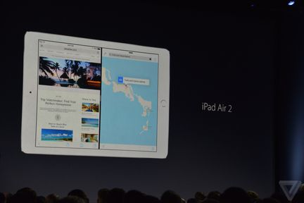 iOS 9 iPad Air SplitView