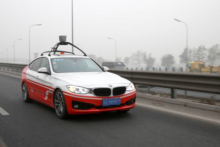 Baidu voiture autonome 02