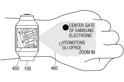 Samsung smartwatch projecteur