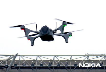 Nokia Saving Lives drones