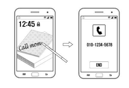 Samsung Galaxy Note reconnaissance ecriture