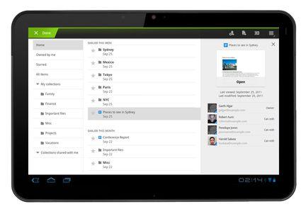 Google Docs Android Honeycomb 01