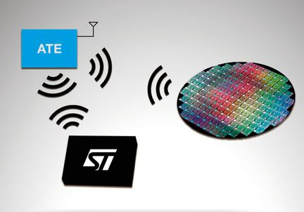ST RFID Wafer