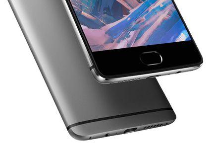 OnePlus 3 lecteur empreinte