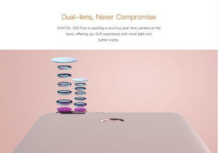 Oukitel U20 Plus double capteur photo