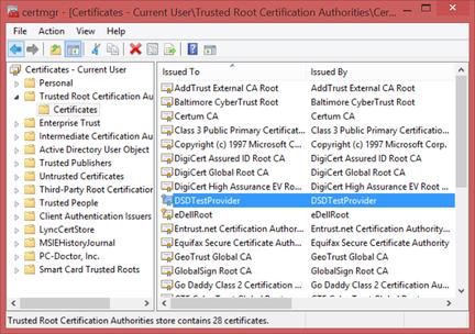 Certificat-DSDTestProvider