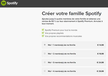 Spotify-abonnement-famille