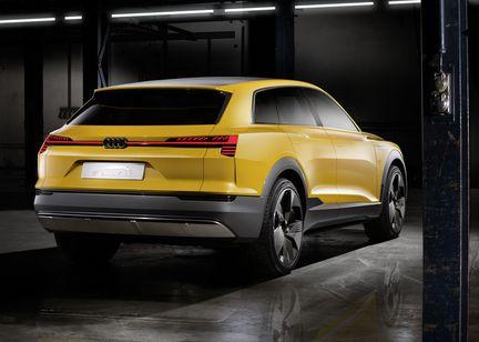 Audi htron Quattro arriere