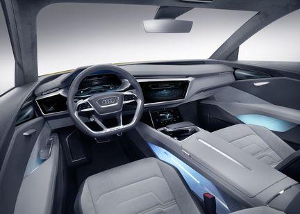Audi htron Quattro habitacle