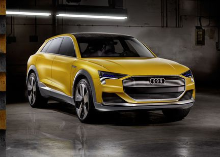 Audi htron Quattro hydrogene