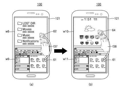 Samsung brevet partage fichier