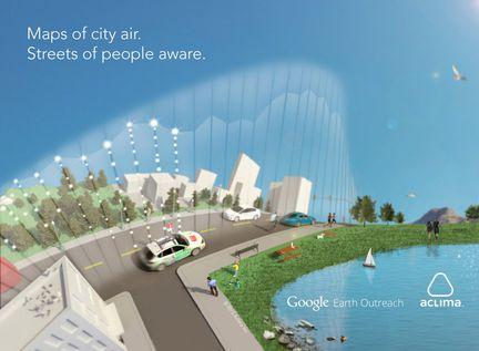 Google Car qualité air